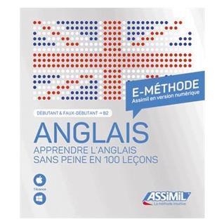 E-méthode, apprendre l'anglais sans peine en 100 leçons